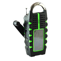 Eton Scorpion Emergency Radio with Solar Wind up AM/FM Radio and LED Torch - FRSC