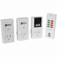Watts Clever Easy Off Remote Control Sockets with Night light - MPP6142