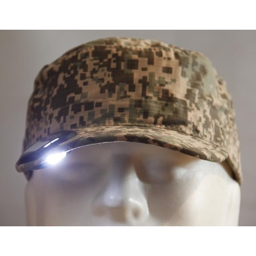 2C One Solar Light Cap Camo -  2C1C