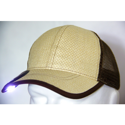 2C One Solar Light Cap Woven - 2C1W