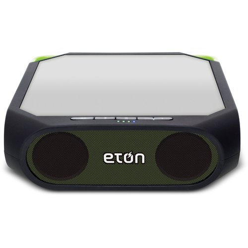 Eton Rugged Rukus Solar Speaker Blue Tooth Sound System - FRRRUK [ Colour : Green ]