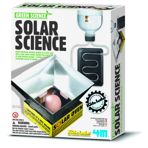 Solar Science Educational Kit - Solar Cooker and Solar Water Heater