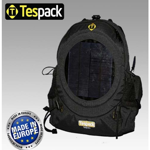 Tashev Fishing Solar Backpack by Tespack - TESFI